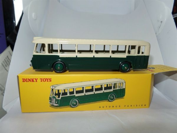 Atlas French Dinky 29D PARISIEN PARIS AUTOBUS SINGLE DECKER BUS MODEL 29D2